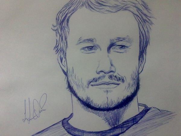 Heath Ledger par Sahar